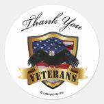 Thank You Veterans - kids wrist stickers