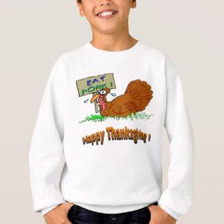 Thanksgiving Eat Pork Tee Shirts