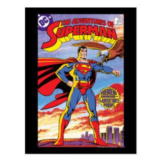The Adventures of Superman #424 Postcard