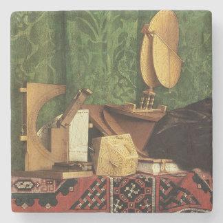 The Ambassadors, 1533 Stone Beverage Coaster