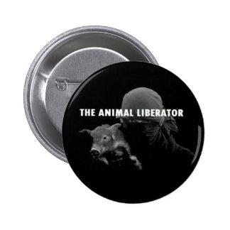 The Animal Liberator 6 Cm Round Badge