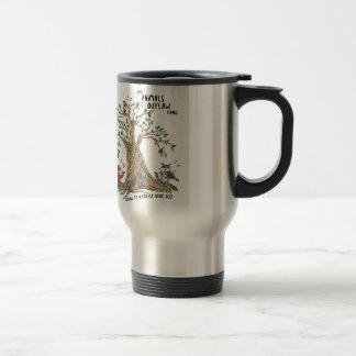 The Animals Outlaw Band Stainless Steel Travel Mug