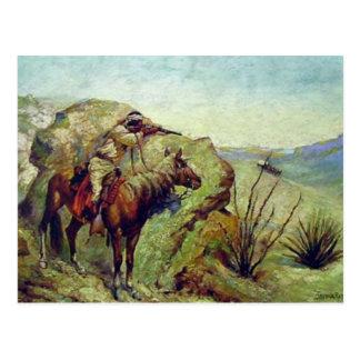 The Apache Postcard