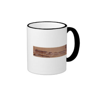 The Arrival of the Dutch in Japan,, 18th century Ringer Mug