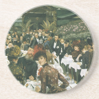 The Artist's Ladies by James Tissot Drink Coaster