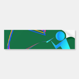The Artist's Scroll2 Bumper Sticker