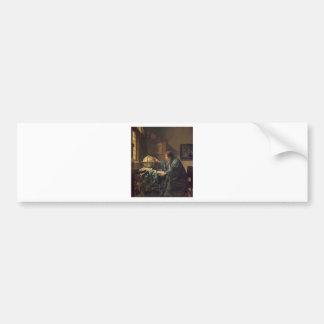 The Astronomer by Johannes Vermeer Bumper Sticker