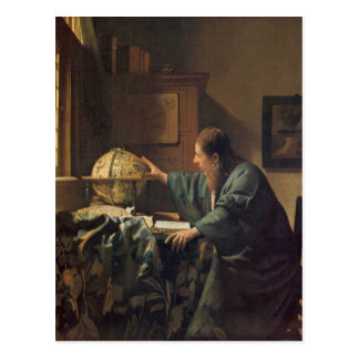The Astronomer by Johannes Vermeer Postcard