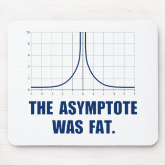 The Asymptote was Fat Mouse Pad