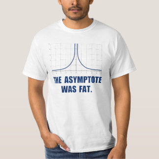 The Asymptote was Fat T Shirts