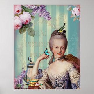 Thé au Petit Trianon Poster