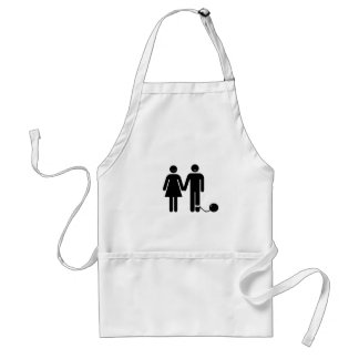 """The """"Ball and Chained"""" groom Standard Apron"""