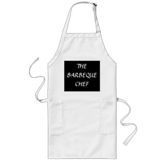 """The Barbeque Chef"">Barbeque Cooking Apron"