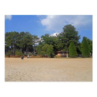The Beach on Lake Allatoona Postcard
