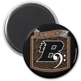The Biznezzz 6 Cm Round Magnet