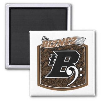 The Biznezzz Square Magnet