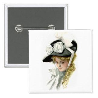The Black Bonnet 15 Cm Square Badge