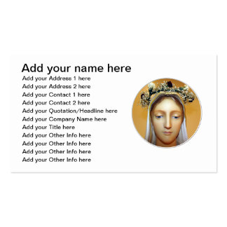 The Blessed Virgin Mary Statue ( May Crowning ) Pack Of Standard Business Cards