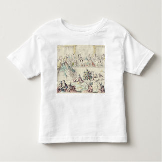 The Breach of Promise - cartoon hand coloured etch Toddler T-Shirt