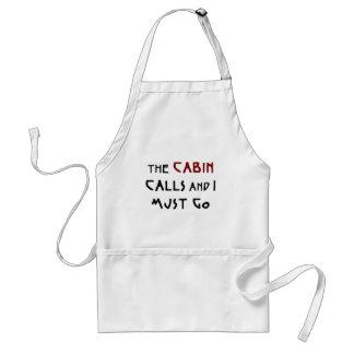 the cabin calls standard apron