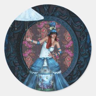 The Carnival Round Sticker