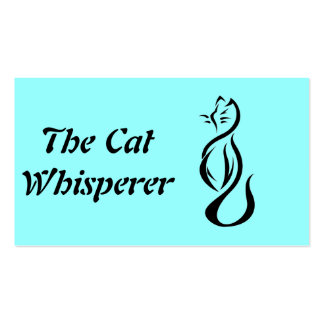 The Cat  Whisperer Pack Of Standard Business Cards