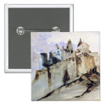 The Chateau of Vianden, 1871 15 Cm Square Badge