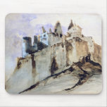 The Chateau of Vianden, 1871 Mouse Pad