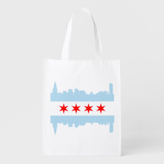 The Chicago Flag Skyline
