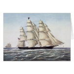 "The Clipper Ship ""Flying Cloud"" Greeting Card"