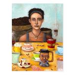 The Coffee Addict Postcard