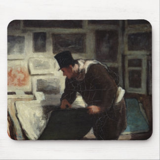The Collector of Engravings, c.1860-62 Mouse Pad