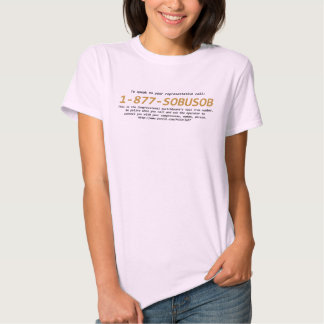 The Congressional Switchboard Toll Free # Tshirt