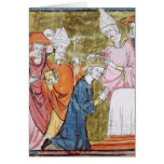 The Coronation of Emperor Charlemagne Greeting Card