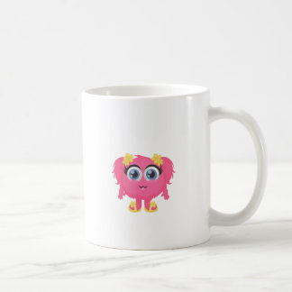 The cutest little monster! basic white mug