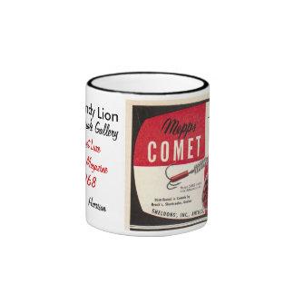 The Dandy Lion ~ Mepps Comet Lure Ad Ringer Mug