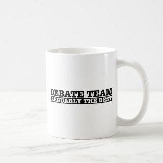 The Debate Team Basic White Mug
