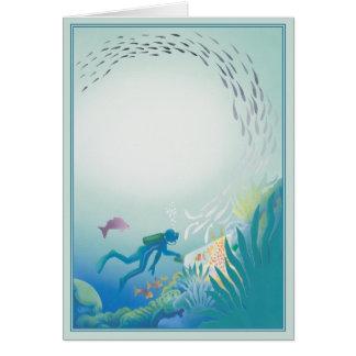 The Deep © Greeting Card