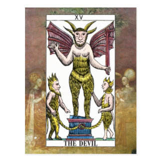 The Devil Tarot Card Postcard