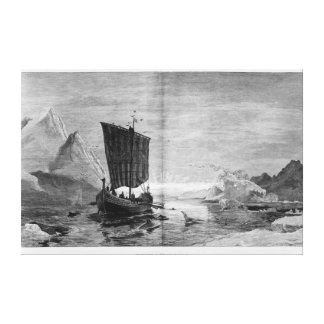 The Discovery of Greenland Gallery Wrap Canvas