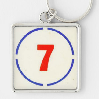 The Divine Circle 7 Keychain