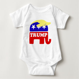 The Donald Trump Toupee Republican Elephant Tee Shirts