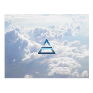 The Element Air Symbol Postcard