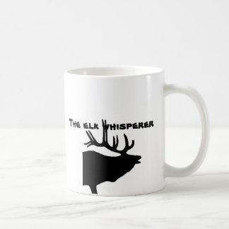 The Elk Whisperer Basic White Mug