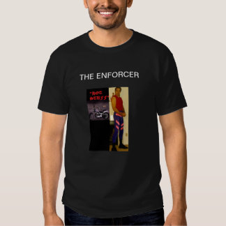 THE ENFORCER MARK WOLF APPAREL LINE TEE SHIRT