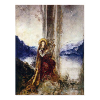 The Evening by Gustave Moreau Postcard