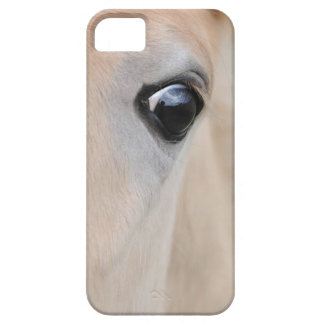 The eye of a Haflinger Rare Breed Pony Barely There iPhone 5 Case