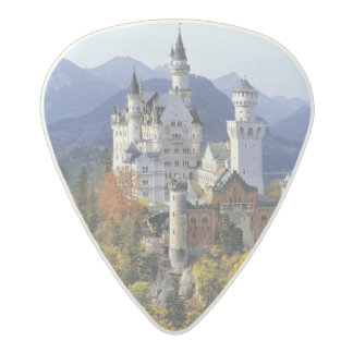 The fanciful Neuschwanstein is one of three Acetal Guitar Pick