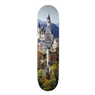 The fanciful Neuschwanstein is one of three Skate Board