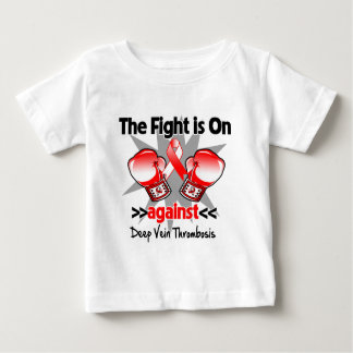 The Fight is On Against Deep Vein Thrombosis (DVT) T-shirts